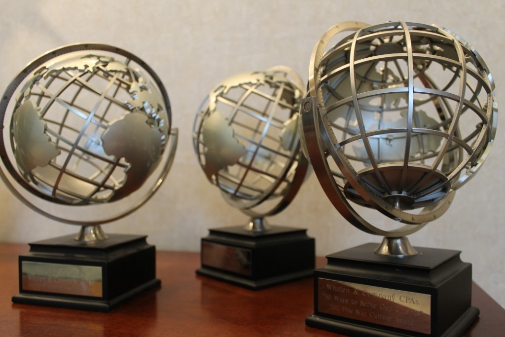Awards from Enterprise Worldwide